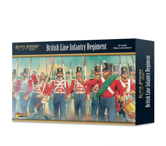Warlord Games Crimean War British Infantry Set