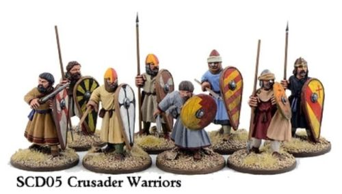 SAGA Crusader Sergeants On Foot