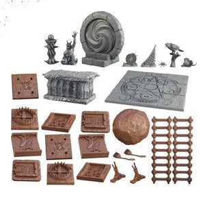 Terrain Crate Dark Lords Tower Set