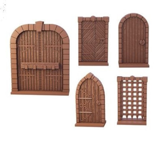Terrain Crate Dungeon Doors Set