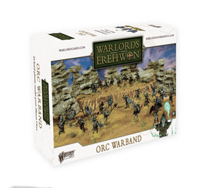 Warlord Games Warlords Of Erehwon Orc Warband