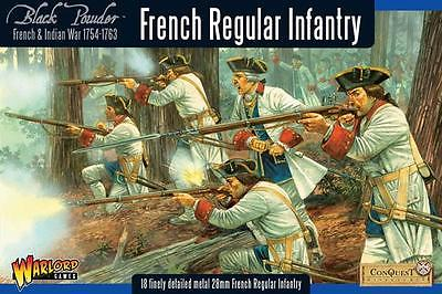Warlord Games French Indian War French Regular Infantry