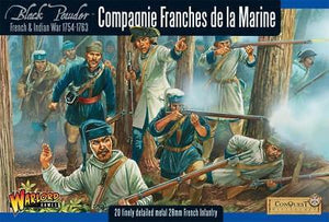 Warlord Games FIW French Compagnie de la Marine Infantry
