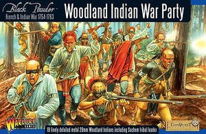Warlord Games French Indian War Woodland Indian War Party