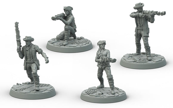Fallout Wasteland Warfare Minutemen Posse Expansion Set