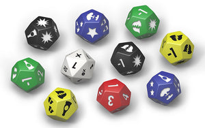 Fallout Wasteland Warfare Dice Set