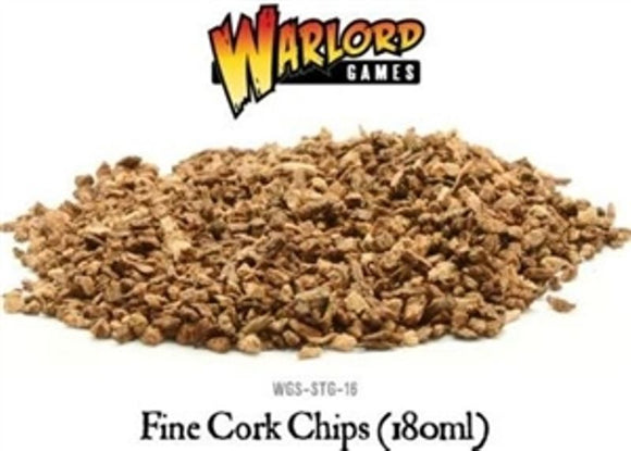 Warlord Games Battlefields & Basing Fine Cork Chips (180ml)