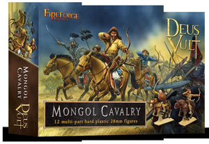 Fireforge Games Mongol Cavalry (12) Hard Plastic Figures
