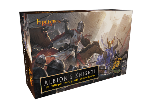 Fireforge Games Albion's Knights 12 Figure Box Set