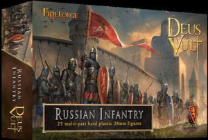 Fireforge Games Medieval Russian Infantry Box Set