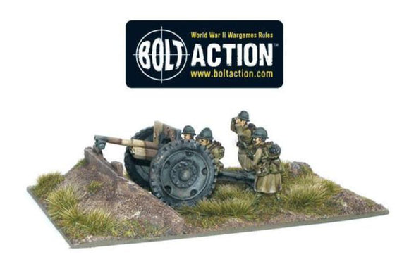Bolt Action Early War French 75mm Gun