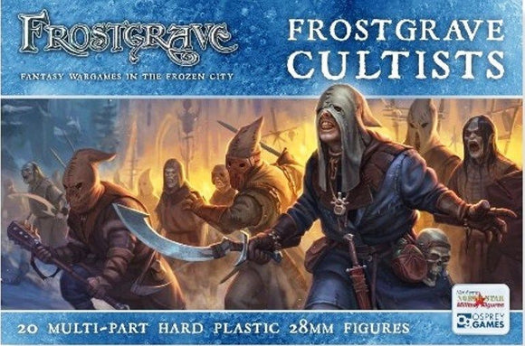 Frostgrave Cultists Box Set FGVP02