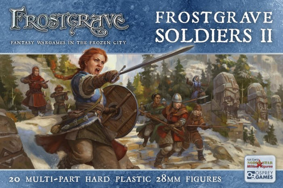 Frostgrave Soldiers II Female Soldiers Set