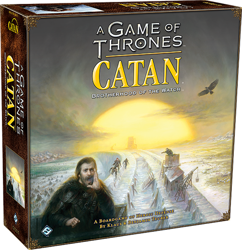 A Game Of Thrones Catan Brotherhood Of The Watch Board Game