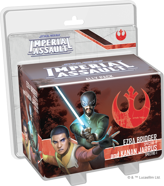 Ezra Bridger and Kanan Jarrus Ally Expansion Pack