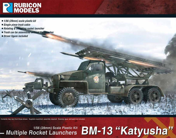 Rubicon Models BM-13 Katyusha Rocket Launcher