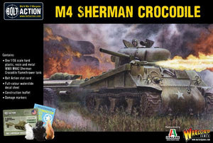 Bolt Action M4 Sherman Crocodile Flamethrower Tank