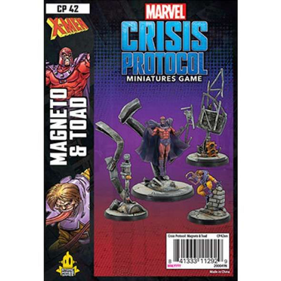 Marvel Crisis Protocol Miniatures Game Magneto & Toad