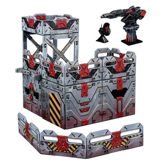 Terrain Crate Military Checkpoint Set