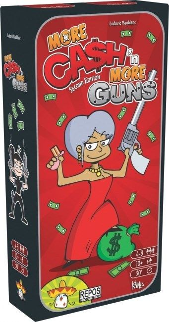 Cash N Guns More Cash More Guns Expansion Set