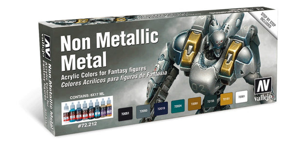 Vallejo Game Colour Non Metallic Metal Paint Set