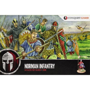 Conquest Games Norman Infantry 44 Figure Set