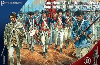 Perry Miniatures AWI Continental Infantry 1776-1783