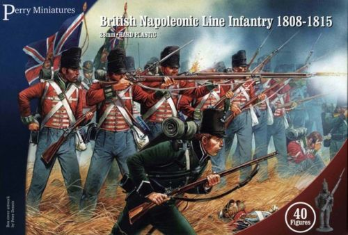 Perry Miniatures British Napoleonic Line Infantry 1808-1815