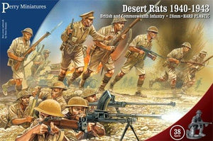 Perry Miniatures Desert Rats 1940-1943 British Infantry