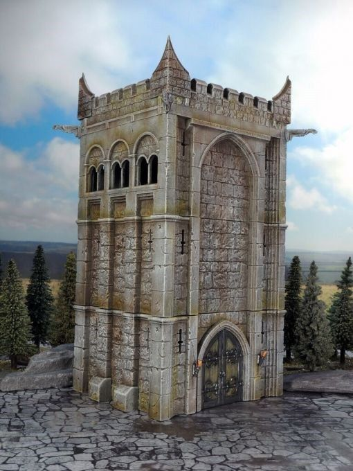 Renedra Stone Tower Wargaming Terrain & Scenery