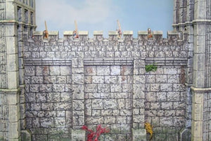 Renedra Stone Wall Section War Gaming Terrain
