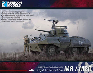 Rubicon Models M8/M20 Armoured Car