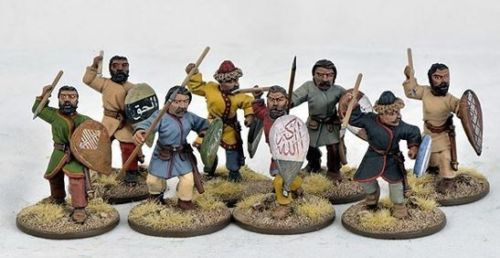 SAGA Saracen Warriors On Foot