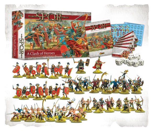 Warlord Games A Clash Of Heroes SPQR Starter Set