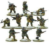 Bolt Action German Waffen SS Squad Winter