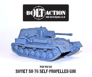 Bolt Action-SU-76M Soviet Assault Gun