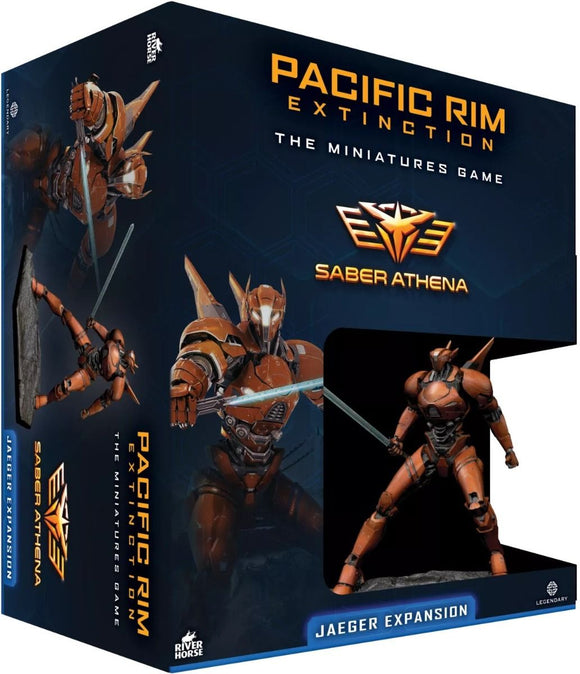 Pacific Rim Extinction Sabre Athena Jaeger Expansion