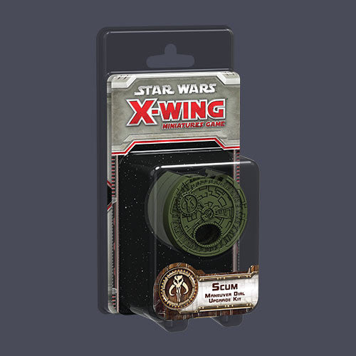 Star Wars X Wing Scum Maneuver Dial Upgrade Kit