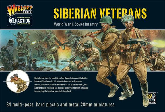 Bolt Action Soviet Siberian Veterans Infantry Set