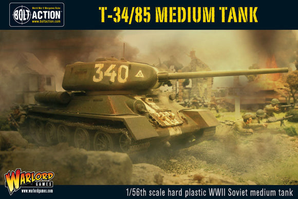 Bolt Action T-34/85 Soviet Medium Tank