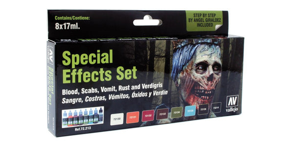 Vallejo Game Colour Special Effects Paint Set