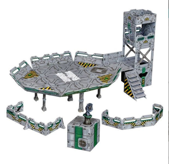 Terrain Crate Landing Zone Set
