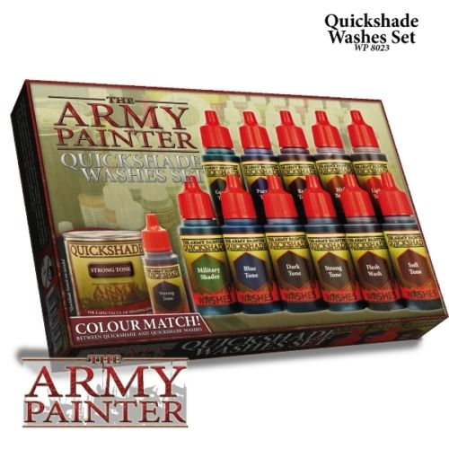 The Army Painter Warpaints Quickshade Washes Set