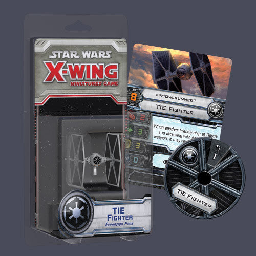 Star Wars X Wing Tie Fighter Expansion Set