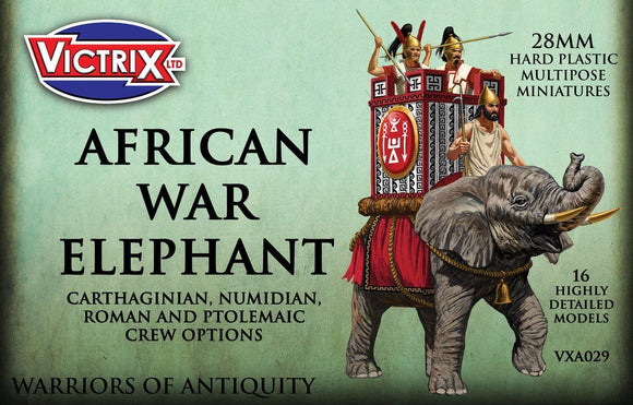 Victrix Miniatures African War Elephant