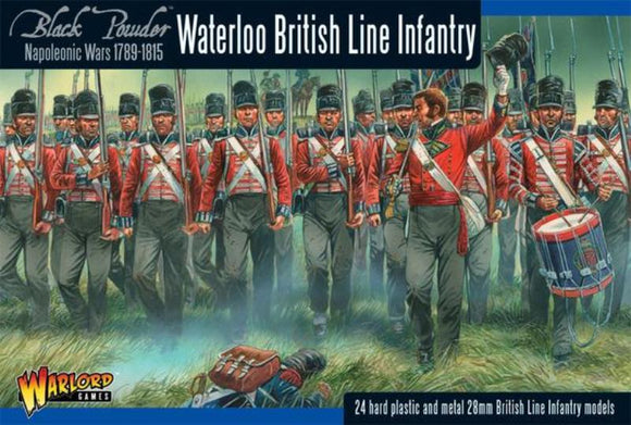 Warlord Games Napoleonic Waterloo British Line Infantry