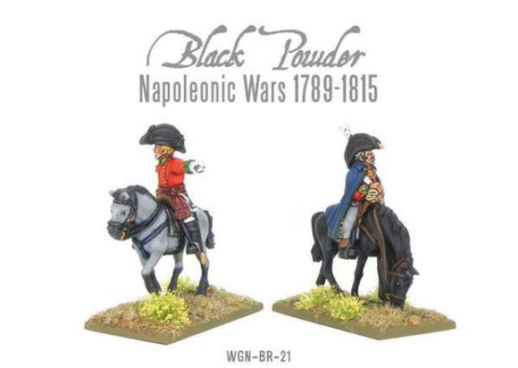 Warlord Games Napoleonic Mounted British Colonels Peninsular War