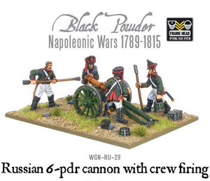 Warlord Games Napoleonic Russian 6 Pdr Cannon 1809-1815