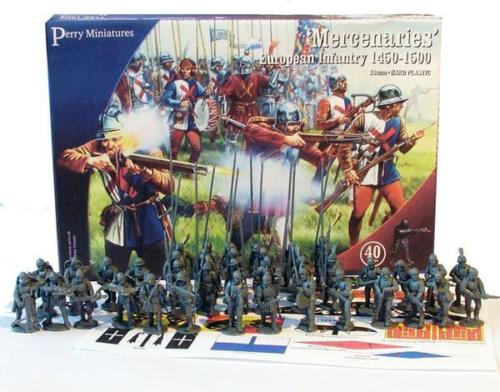 Perry Miniatures War Of The Roses Mercenaries