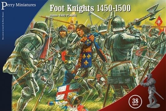 Perry Miniatures War Of Roses Foot Knights 1450-1500